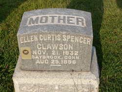 Ellen Curtis <I>Spencer</I> Clawson