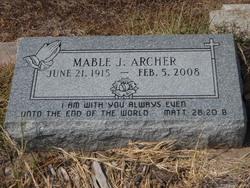 Mable Juanita <I>McMinn</I> Archer