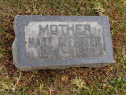 Mary <I>Cannon</I> Foster