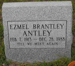 Ezmel <I>Brantley</I> Antley