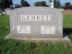 Ida May <I>Hains</I> Gehret