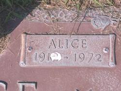 Alice <I>Hanna</I> Dice