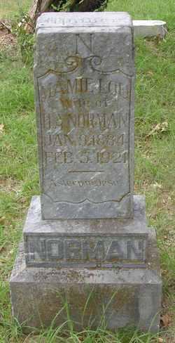 """Mary Lou """"Mamie"""" <I>Cowan</I> Norman"""