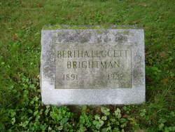 Bertha Agnes <I>Leggett</I> Brightman