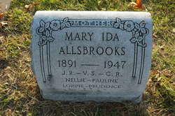 Mary Ida <I>Boyce</I> Allsbrook