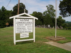 Alpine Community Church Cemetery