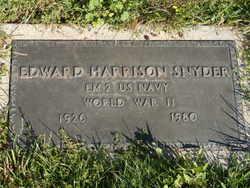 Edward Harrison Snyder, Jr