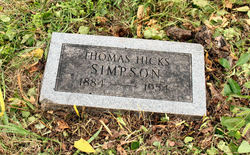 Thomas Hicks Simpson