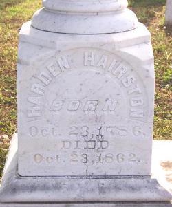 Harden Hairston