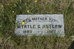 Myrtle Grace <I>Howland</I> Anslow