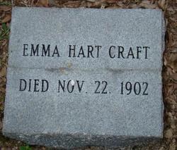 Emma <I>Hart</I> Craft