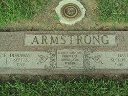 Myrtle F <I>Dunaway</I> Armstrong