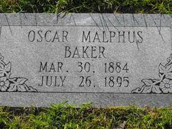 Oscar Malphus Baker