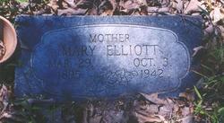 Mary <I>Dunaway</I> Elliott