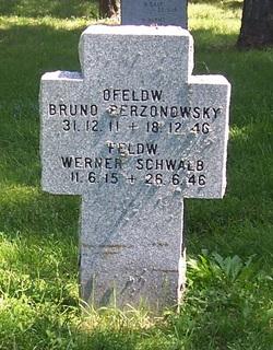 Feldw. Werner Schwalb