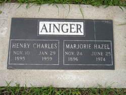 Marjorie Hazel Ainger