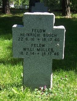 Feldw. Willi Müller