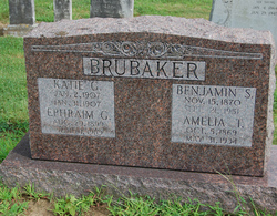 Amelia T <I>Ginder</I> Brubaker