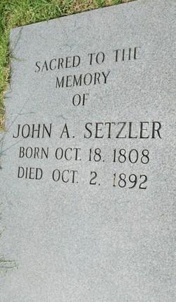 John A. Setzler