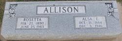 Alsa Elsworth Allison