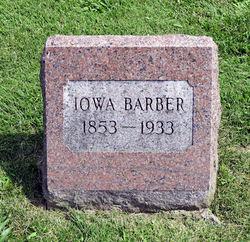 Iowa <I>Tatman</I> Barber