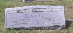Rillie Florence <I>Starnes</I> Davis