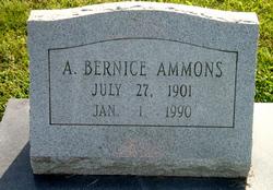 Alma Bernice Ammons