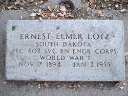 Ernest Elmer Lotz