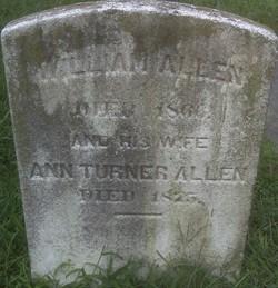 Ann <I>Turner</I> Allen