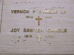 Joy <I>Sawyer</I> Gamble