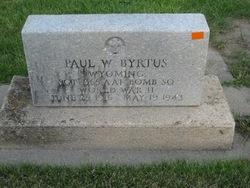 SGT Paul W. Byrtus