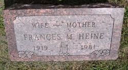 Frances Martha <I>Archer</I> Heine