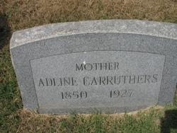Permelia Adline <I>Franklin</I> Carruthers