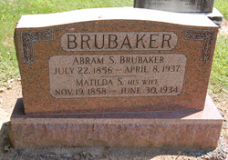 Matilda S. <I>Ober</I> Brubaker