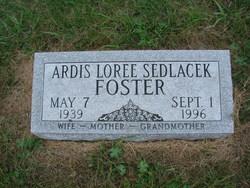 Ardis Loree <I>Sedlacek</I> Kephart-Foster