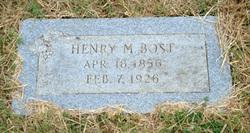 Henry Manless Bost