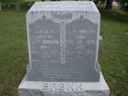 Julia Frances <I>Leatherwood</I> Brown