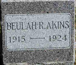 Beulah Rachel Akins