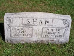 Susan M <I>Carmer</I> Shaw
