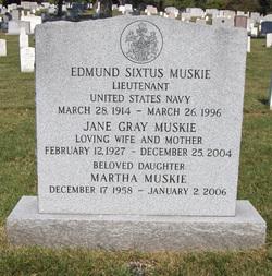 Jane <I>Gray</I> Muskie
