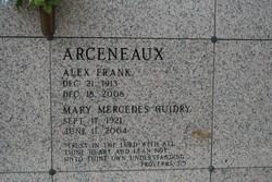 Mary Mercedes <I>Guidry</I> Arceneaux