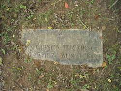 Ann <I>Gibson</I> Thompson