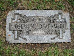 Josephine Dolores <I>Drozdowicz</I> Adamski