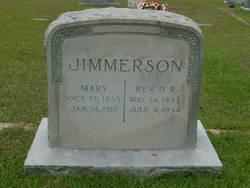 "Rev Doctor Reubin ""Dock"" Jimmerson"