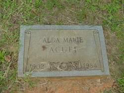 Alda Marie <I>Foster</I> Acuff
