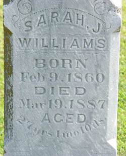 Sarah J. Williams