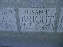 Susan Margaret <I>Dawson</I> Bright