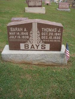 Pvt Thomas Jefferson Bays, Jr