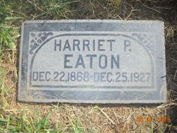 Harriet Percilla <I>Richins</I> Eaton