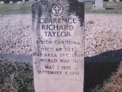 "Clarence Richard ""Bill"" Taylor"